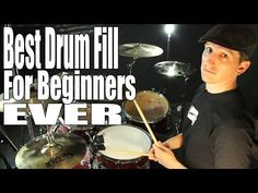 DRUM FILLS: Best Beginner Drum Fill Ever - YouTube