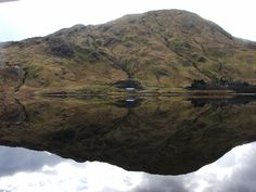https://flic.kr/p/kpcst2 | Connemara Reflection 2 by Ruairi O'Neill | Mountain reflected in Lake near Kylemore Abbey in Connemara  available to purchase on www.conamaraphotography.com