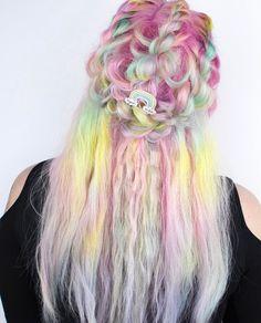 Die 132 Besten Bilder Von Bunte Haare In 2018 Frisuren Bunte