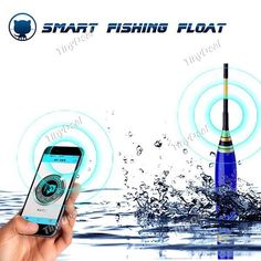 Smart Noctilucent Fishing Float Bluetooth 4.0 Smartphone Monitor Smart Alarm for iOS / Android Devices with Light SFS-508887