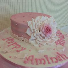 My rendition of Ron Ben Israel's red rose cake, my favorite yet!!