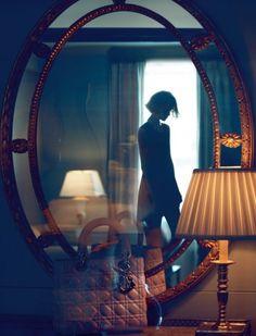 Mirte Maas by Camilla Akrans for Dior