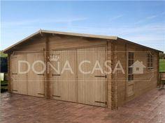 GARAJE PARA 2 COCHES 45mm 600x600, Garajes