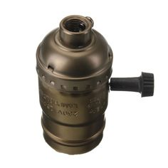 E27 Socket Edison Retro Pendant Lamp Holder Without Wire 110-220V Sale-Banggood.com