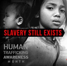 Did you know it's Human Trafficking Awareness Month? Check out the organizations dedicated to fighting the evil of human trafficking, and restoring the victims that endure it: http://klove.cta.gs/03c
