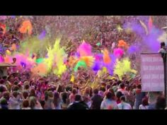 Festival of Colors - i need to go to this.