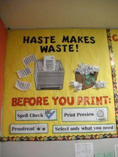 Haste makes waste!