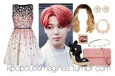 """First date with Jimin (girly and cute)"" by neonlynxie ❤ liked on Polyvore featuring Marc Jacobs, RED Valentino, UGG Australia, Shaun Leane, J.Crew, Chicnova Fashion, women's clothing, women, female and woman"