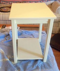 After, a cute little table for the girls.