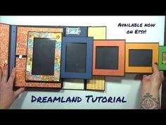 Tri Fold Cards, Folded Cards, Mini Scrapbook Albums, Mini Albums, Pop Up, Mini Album Tutorial, Handmade Birthday Cards, Handmade Cards, Heartfelt Creations