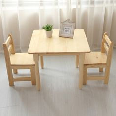 Kids Furniture, Furniture Sets, Dining Table, Room Decor, Toys, Activity Toys, Wood, Dining Room, Quartos