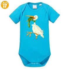 Frog and Stork Baby Strampler by Shirtcity - Baby bodys baby einteiler baby stampler (*Partner-Link)