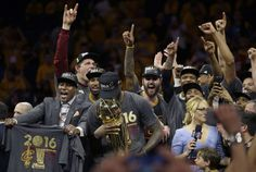 The Cleveland Cavaliers became the NBA champions for the first time in franchise history on Sunday, and everyone was totally overwhelmed. | Fans Are Emotional After The Cleveland Cavaliers' Historic Win