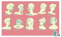 Some kind of Expressions by Pulce90.deviantart.com on @deviantART
