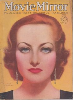 Joan Crawford on the April 1932 Movie Mirror