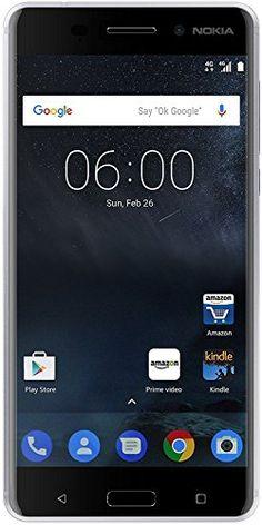 Nokia 6 (Silver 32GB)(Certified Refurbished)