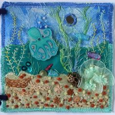 Under the Sea Embellished Fabric Page | Flickr - Photo Sharing!