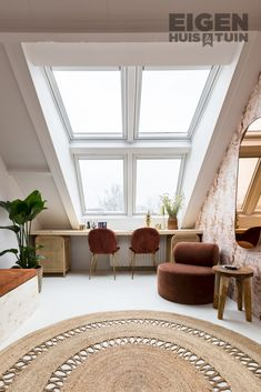 Attic Renovation, Attic Rooms, House Windows, Spare Room, Dream Bedroom, New Room, Home And Living, Room Inspiration, New Homes