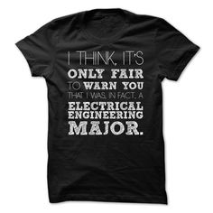 Awesome Electrical Engineering Major Shirt T-Shirts, Hoodies, Sweaters
