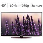 """Samsung 40"""" Class (40.0"""" Diag.) 1080p Smart LED HDTV UN40H5201AFXZA on sale 439.99 - 100 = 339.99"""