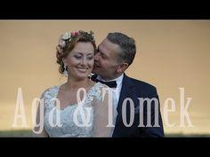 Nowoczesny film ślubny - fragment filmu ze ślubu