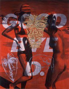 David Salle   Good Bye D., 1982