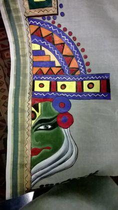 Kathakali art: Nimmy's Creations