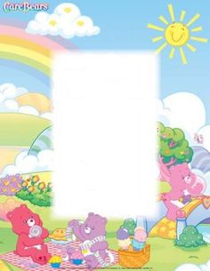 Personalized Care Bears Name Poem - Name Poems - This Is My Story Time