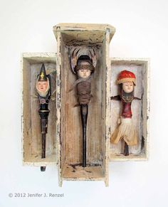 Assemblage: Tool Triptych  by *bugatha1  Traditional Art / Assemblage©2012 *bugatha1