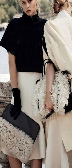 black white fashion ♥✤   Keep the Glamour   BeStayBeautiful