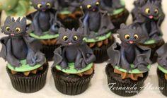 Deliciosos e criativos cupcakes com personagens de desenhos animados
