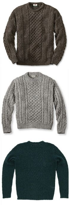 Fisherman's jumpers