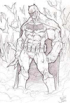 BATMAN by vandalocomics