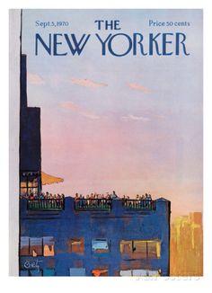 Premium Giclee Print: The New Yorker Cover - September 5 Wall Art by Arthur Getz :