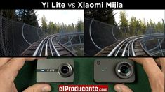 Specs, Audio Test, EIS (image stabilisation), photo resolution and side-by-side comparison review of YI Lite and Xiaomi Mijia Action Camera. You can win Xiao... Side By Side Comparison, Tiny Camera, Camera Comparison, Test Video, Gopro Hero 5, Camera Reviews, Wide Angle