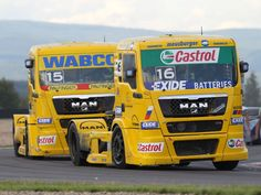 Semi Truck Racing | 2006 MAN-TG semi tractor truck trucks race racing n wallpaper ...