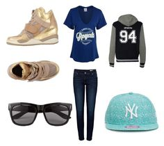 """All-Star"" by mallory-hail ❤ liked on Polyvore"