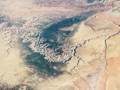 The Grand Canyon is still spectacular when seen from the International Space Station.