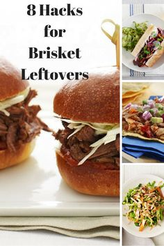 8 Hacks For Brisket Leftovers,  there is so much you can do with those leftovers including salads, tacos and sliders