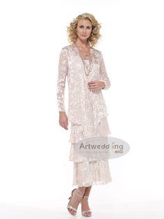 mother of bride dresses tea length | Scala 25360 Tea Length Mother ...