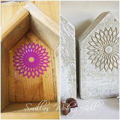 Smillas Wohngefühl: DIY: Betonhäuser mit und ohne Schnickschnack
