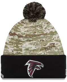 98e89db0f New Era Atlanta Falcons Salute to Service Knit Hat Men - Sports Fan Shop By  Lids - Macy s