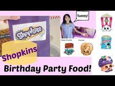 Shopkins Birthday Party Food Ideas! - YouTube