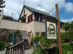 Harbor Public House, a restaurant and pub overlooking Eagle Harbor, is a favorite with Bainbridge Island locals.