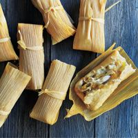Hatch Chicken Tamales #HEBHolidayMeal