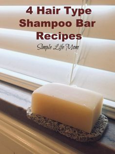 Garden Landscaping Fence 4 Hair Type Shampoo Bar Recipes from Simple Life Mom.Garden Landscaping Fence 4 Hair Type Shampoo Bar Recipes from Simple Life Mom Diy Shampoo, Shampoo Bar, Natural Shampoo Recipes, Natural Soaps, Rides Front, Homemade Soap Recipes, Natural Beauty Tips, Diy Beauty Bar, Beauty Hacks
