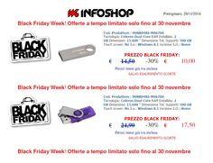 """Black Friday Week """"PENDRIVE""""! Offerte a tempo limitato solo fino al 30 novembre."""