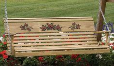 amish furniture porch swings