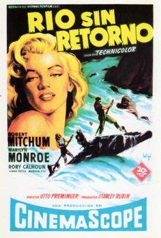 Río sin retorno (1954) EEUU. Dir: Otto Preminger. Aventuras. Oeste - DVD CINE 606-V