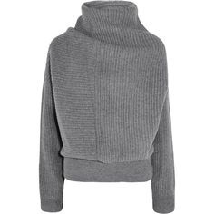Acne Studios Jacy oversized ribbed wool turtleneck sweater ($480) ❤ liked on Polyvore featuring tops, sweaters, jumpers, grey, wool sweater, oversized wool sweater, turtle neck sweater, ribbed turtleneck sweater and gray turtleneck sweater